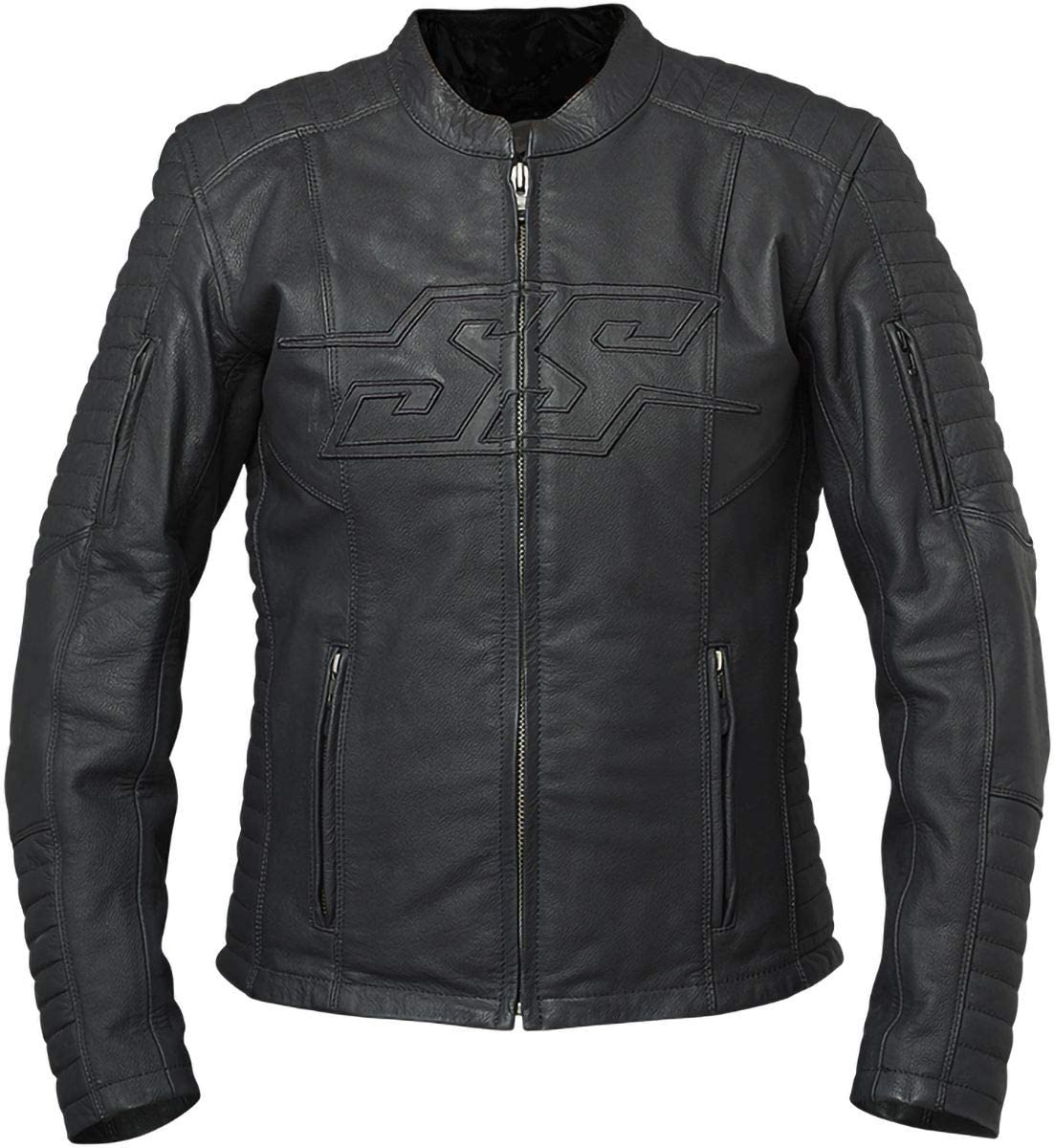Speed and Strength Women's Leather Jacket (Black, X-Large)