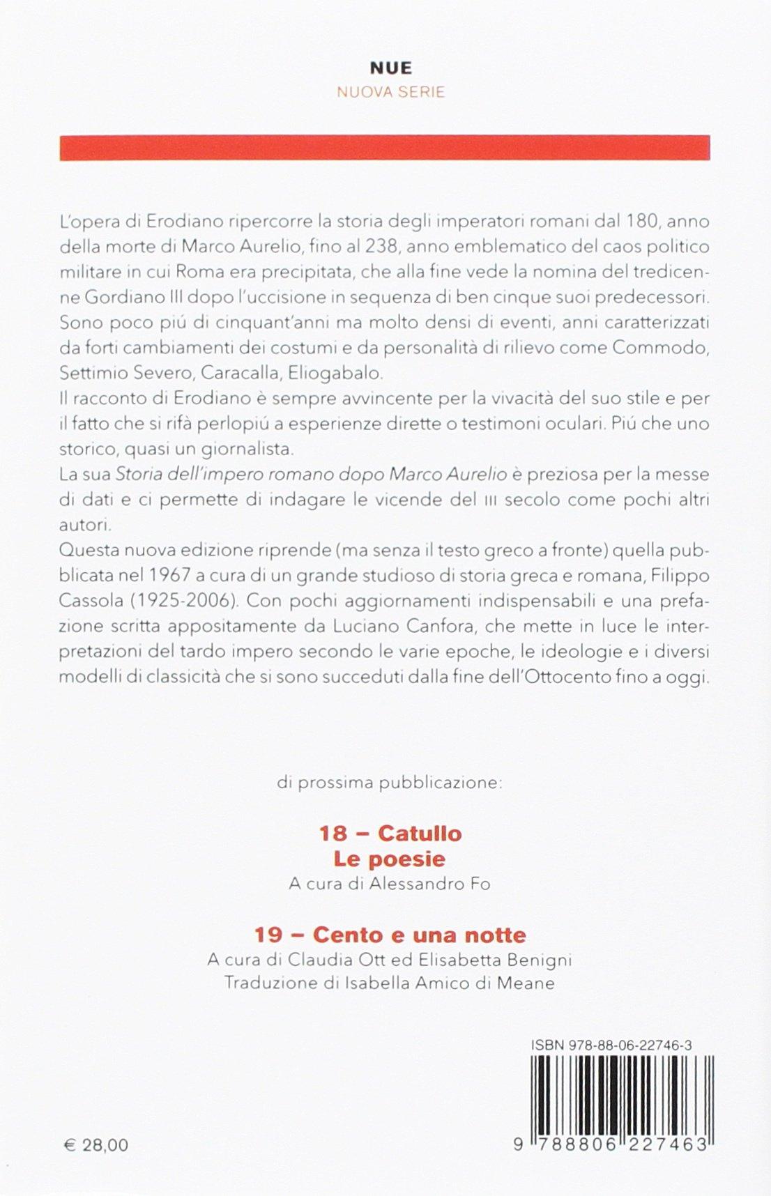 Marco Romano Storia Dell'impero Aurelio Dopo t0FFvw