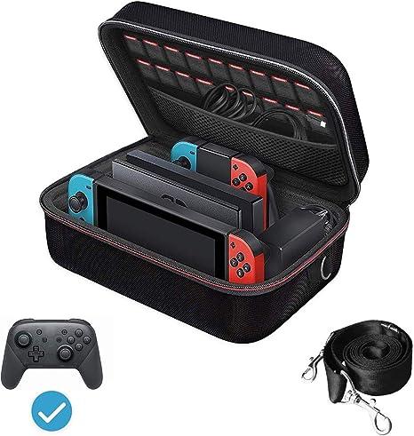 iVoler Funda para Nintendo Switch, Estuche Dura de Transporte de ...