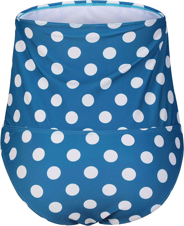 EastElegant Maternity Over Belly Swim Bottom Only High Waist Swimwear Swim Tankini Bottom ONLY