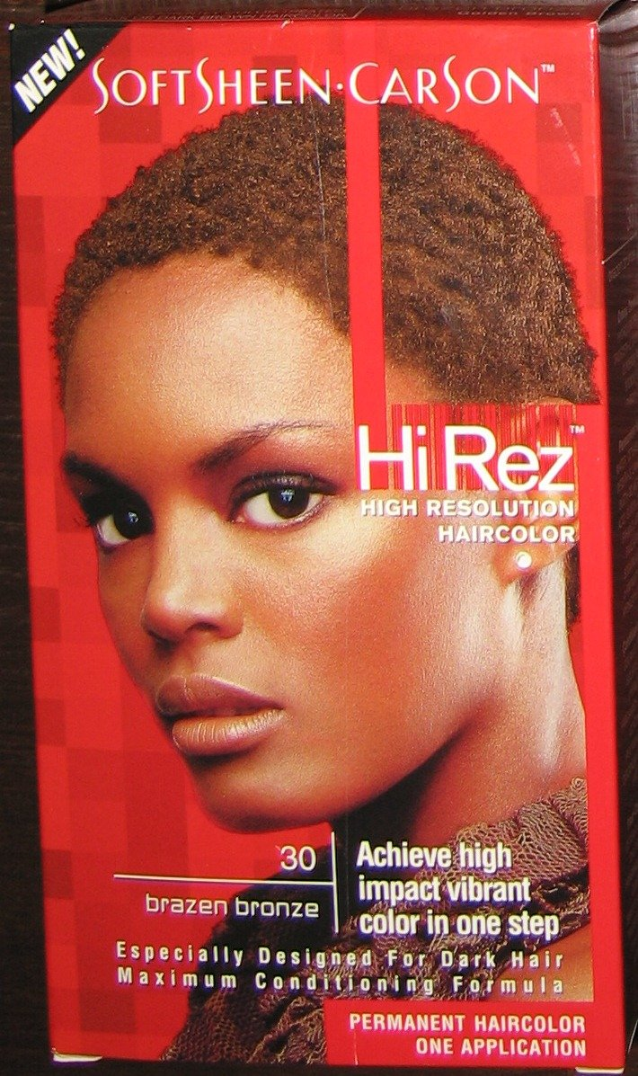Amazon Softsheen Carson Hi Rez Haircolor 30 Brazen Bronze