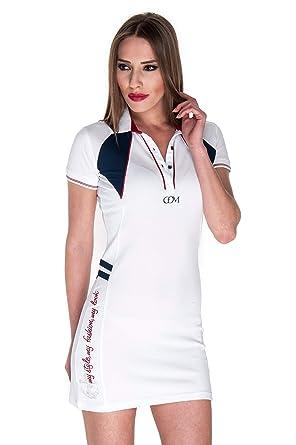 Giorgio Di Mare - Vestido - para Mujer Blanco XS: Amazon.es: Ropa ...