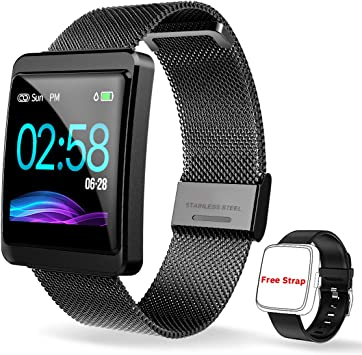 CanMixs Pulsera de Actividad Smartwatch, CM11 Impermeable IP68 ...