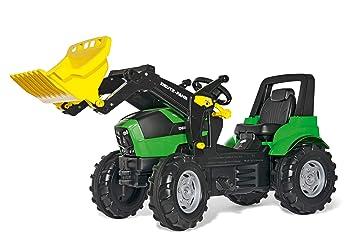 Schneider Novus 710034 - Tractor a Pedales (146 cm, con Pala), Color Verde