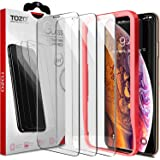 TOZO for iPhone Xs Max Screen Protector 6.5 Inch (2018) [3-Pack] Premium Tempered Glass [0.26mm] 9H Hardness 2.5D Film Super Easy Apply for iPhone 10s Max/Xs Max 6.5 inch