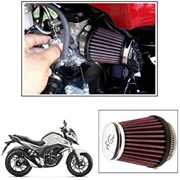 Vheelocityin Kn Rc 1060 Air Filter Universal For All Bikes For