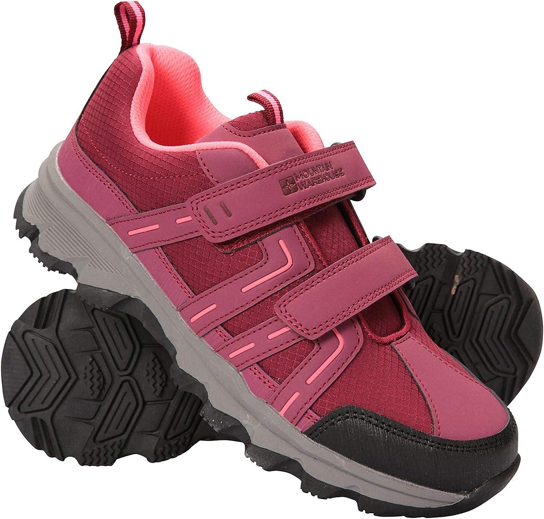 Mountain Warehouse Cannonball Kids Walking Shoes Hiking Sneakers