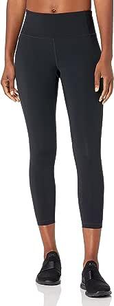 "Core 10 Amazon Brand Women's 'Build Your Own' Flashflex Run 7/8 Crop Legging - 24"" (XS-XL, Plus Size 1X-3X)"