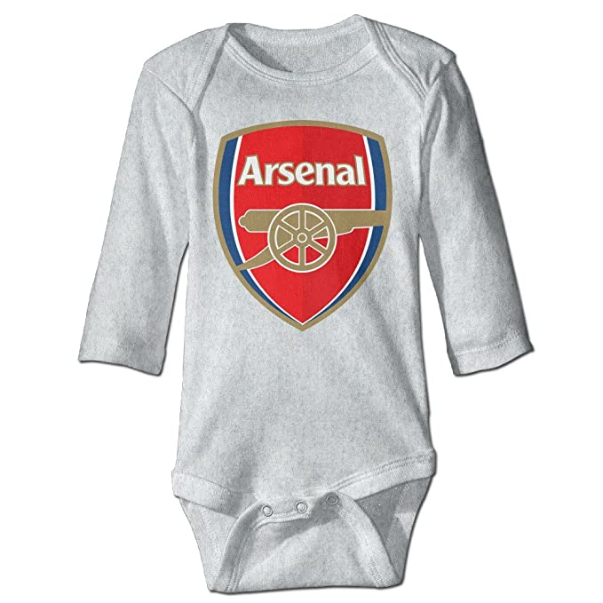 ce62b7bea Amazon.com  Arsenal Football Club Baby Boy Girls Infant Casual Romper   Clothing