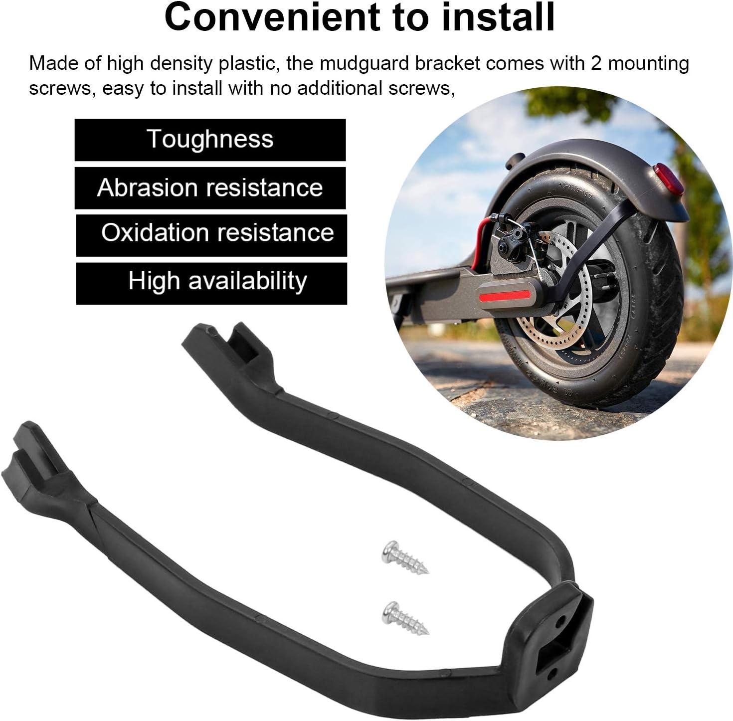 incluye soporte para guardabarros trasero y cubierta de silicona impermeable y 3 amortiguadores de vibraci/ón de goma para Xiaomi M365//M365 Pro Scooter Kyrio 5 piezas de repuesto para scooter
