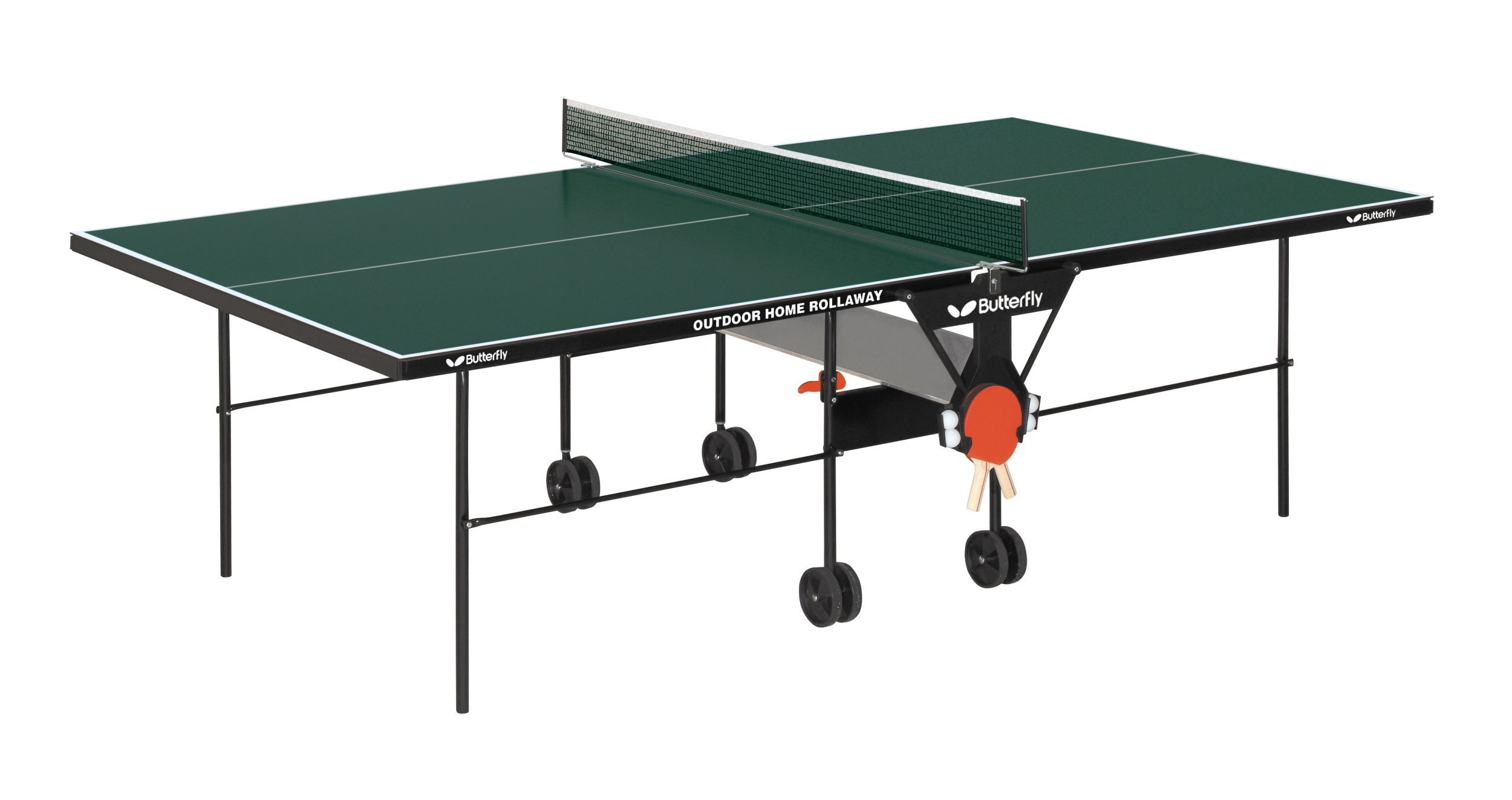 Butterfly Home Rollaway Indoor/Outdoor Table Tennis Table by Butterfly