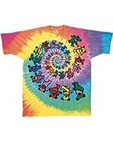 Grateful Dead - Spiral Vortex Bears - Adult T-Shirt