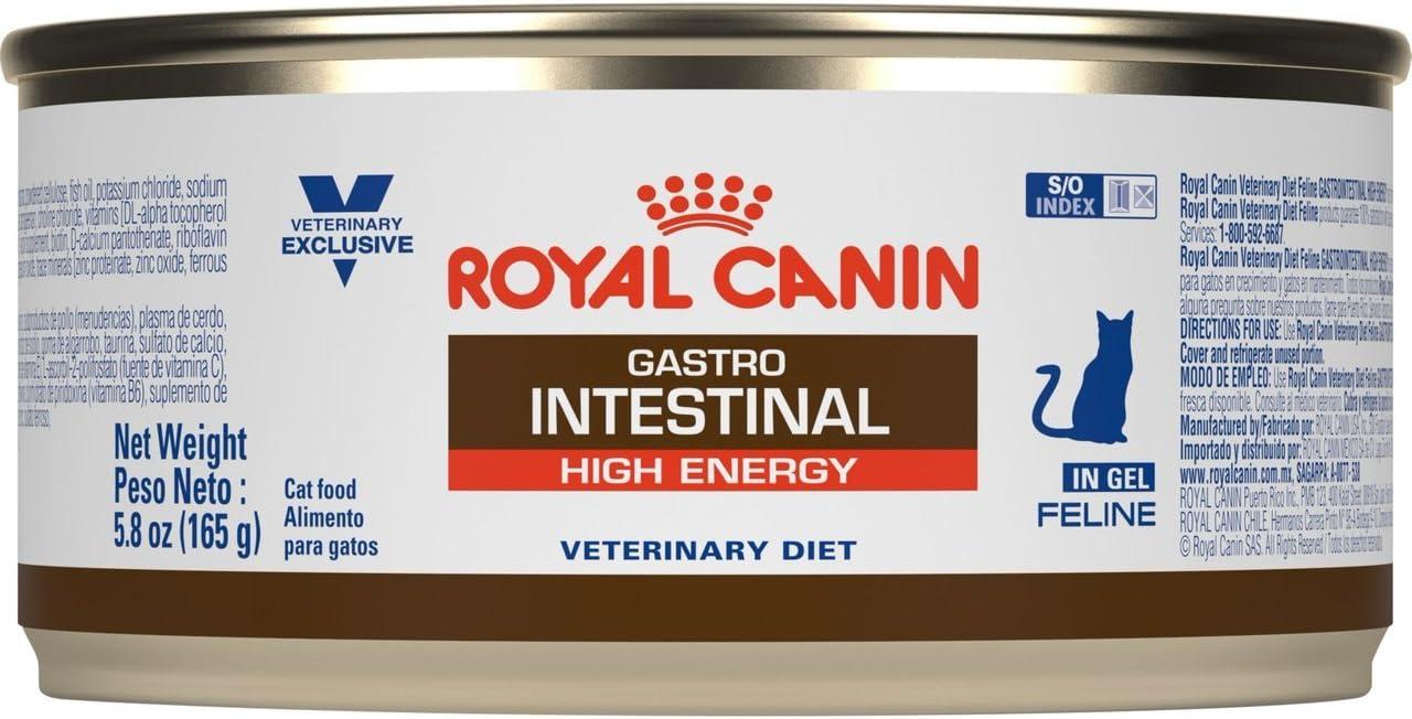 Royal CANIN Feline Gastrointestinal HE High Energy Canned Cat Food 24 5.8 oz Cans