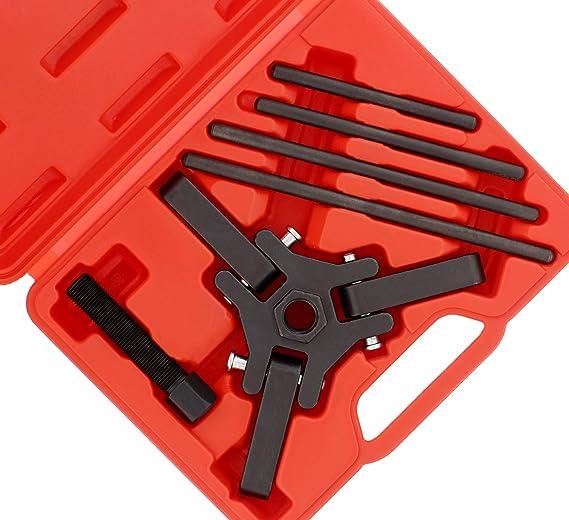 ABN armónica Amortiguador Polea Extractor Set Para Polea de cigüeñal eliminación de Chrysler, GM, Mitsubishi vehículos: Amazon.es: Coche y moto