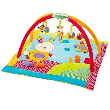 Babysun Nursery Tapis D Eveil A Arceaux Lapinou Multicolore Amazon