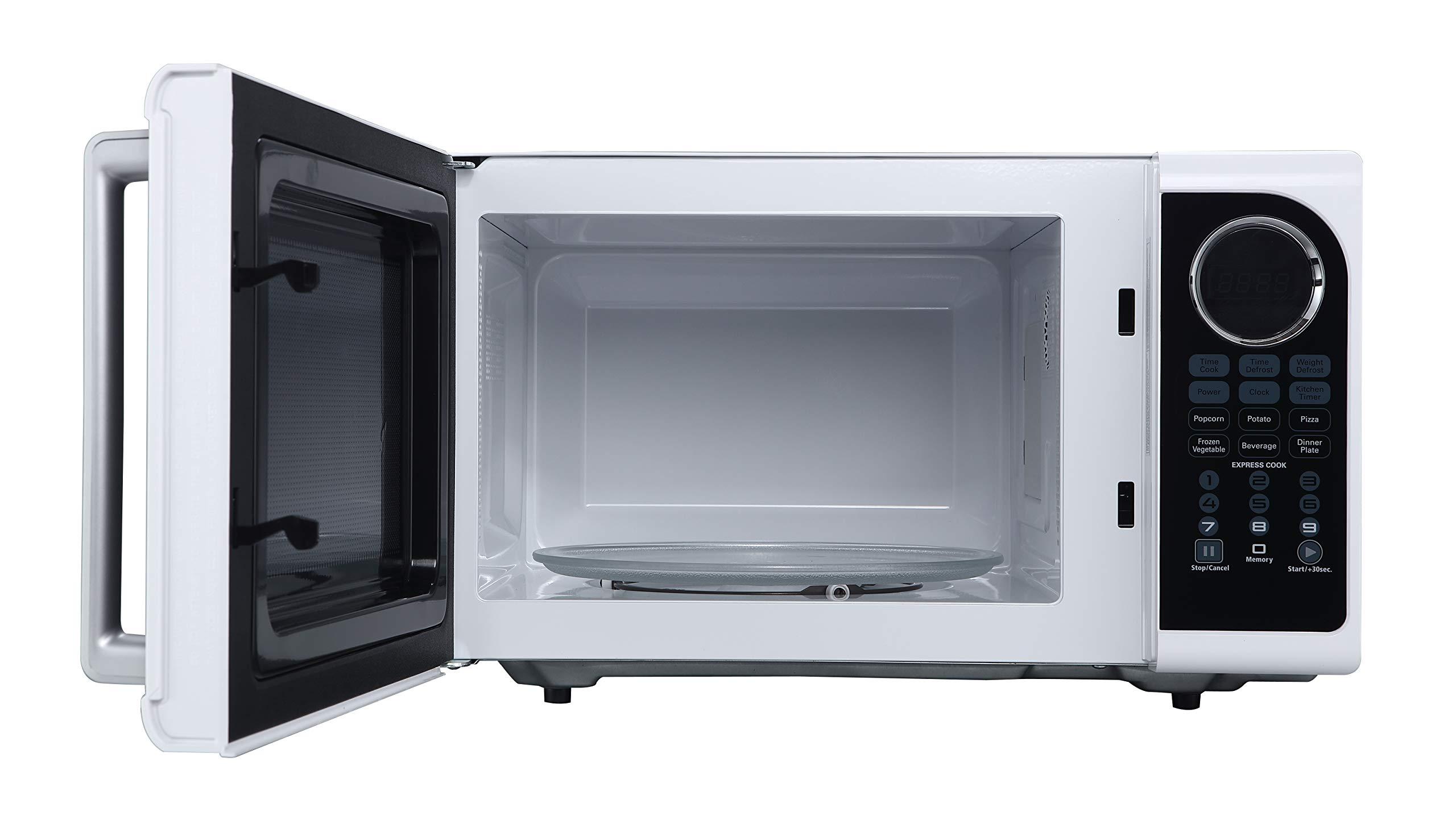 Black+Decker EM925ACP-P1 0.9 Cu. Ft. Digital Microwave, White by BLACK+DECKER (Image #4)
