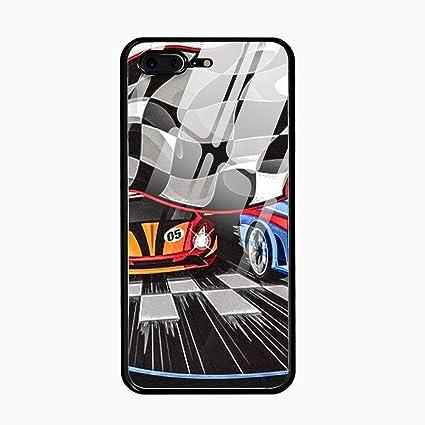 eb344ffeec Amazon.com  Automobile Racing Case for Phone7 Plus Phone8 Plus ...