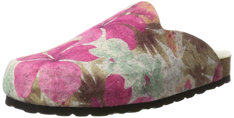 Hans Herrmann Collection HHC, Zuecos para Mujer 42 EU|Multicolor (Crudo-flores 30)