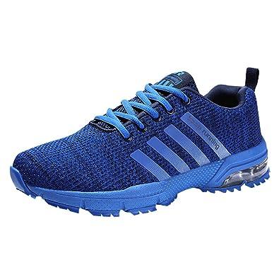 big sale 4e0e2 703dc HMIYA Damen Herren Laufschuhe Sportschuhe Turnschuhe Trainers Running  Fitness Atmungsaktiv Sneakers