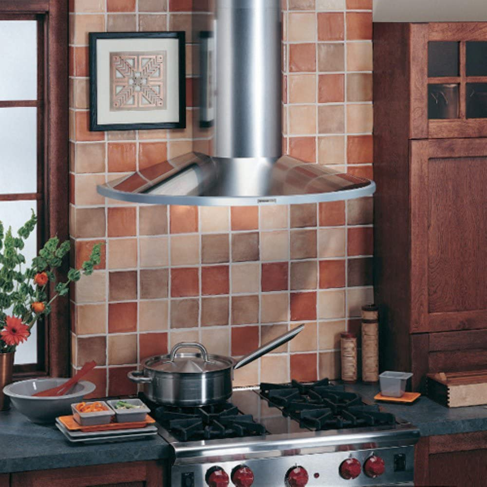 B00074TBDG Broan RM519004 Elite Rangemaster Wall-Mounted Chimney Hood, 35-7/16-Inch, Stainless Steel 71dlTjH5rgL.SL1000_