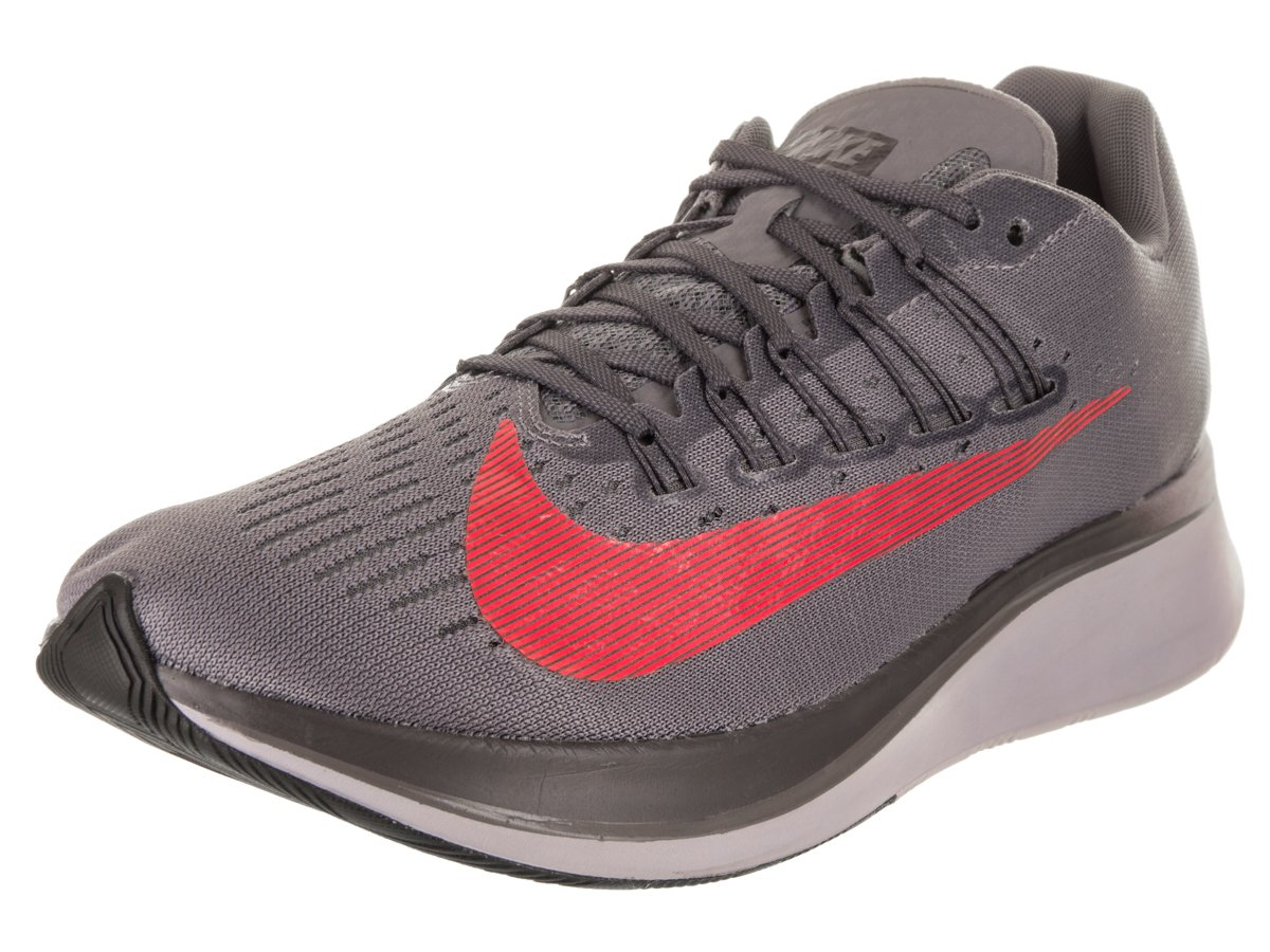 6db11a79cb2a Galleon - NIKE Men sZoom Fly Running Shoe Gunsmoke Bright Crimson-Thunder  Grey 11.5