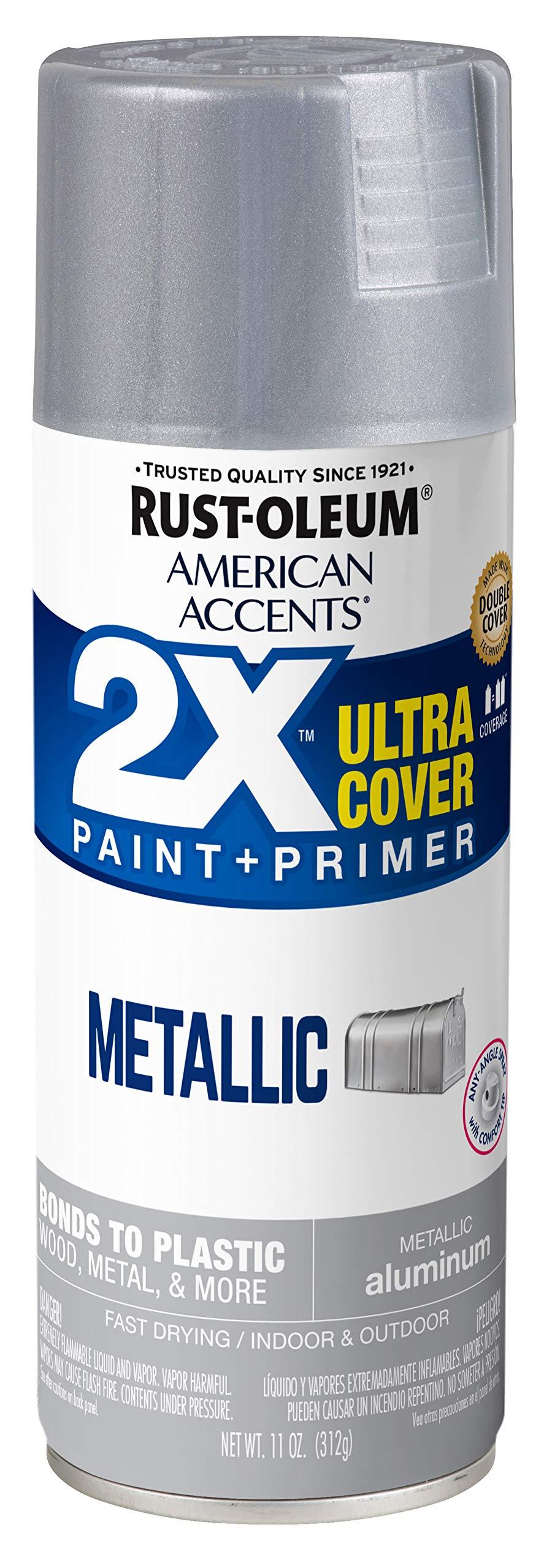 Rust-Oleum 327907 American Accents Spray Paint, 1 Pack, Metallic