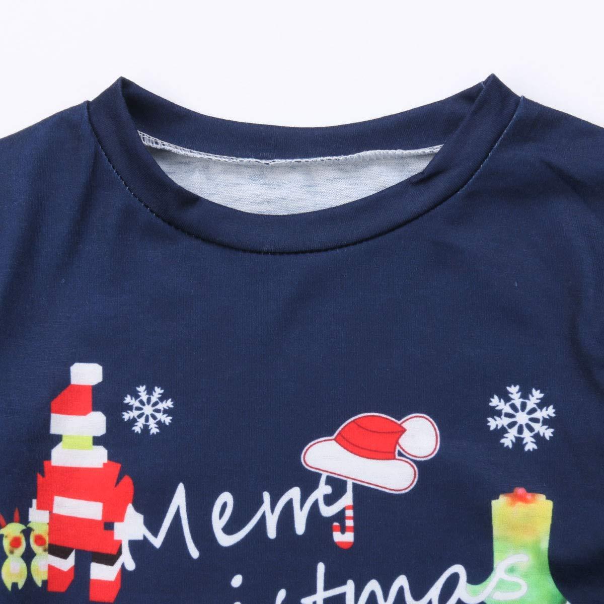 Dad,XXL Christmas Matching Pajamas for Family PJs Set Dad Mom Kids Baby Xmas Soft Cotton Clothes Sleepwear