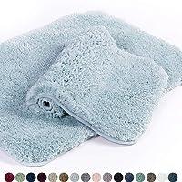 Cotton Banded Bath Mats