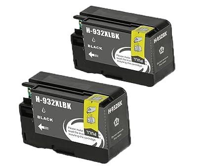 De repuesto para HP 932 X L y HP 933 X L 4 Pack (1Black + 1 + ...