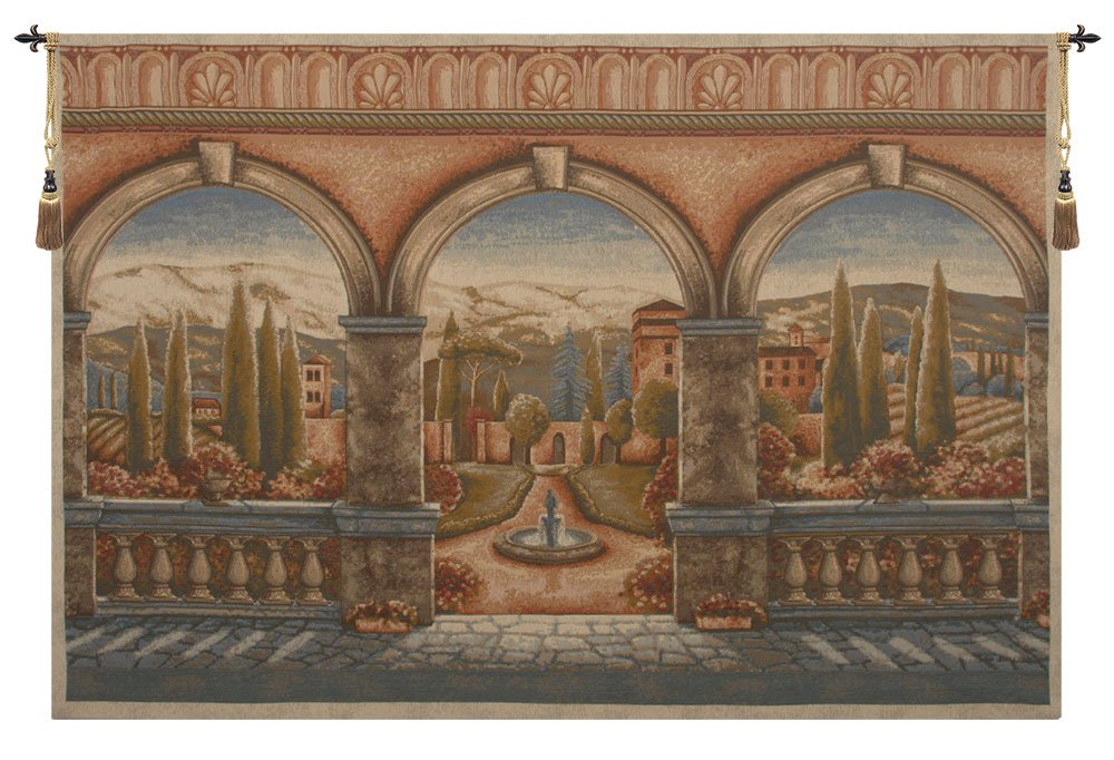 Tuscan Arches Tapestry Wall Hanging