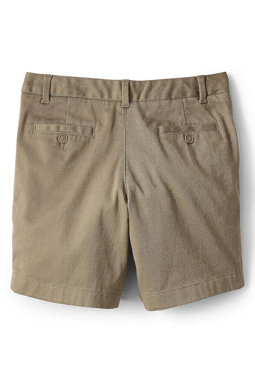 Lands End School Uniform Girls Stretch Chino Bermuda Shorts