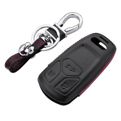 Audi TT Leather Key Ring