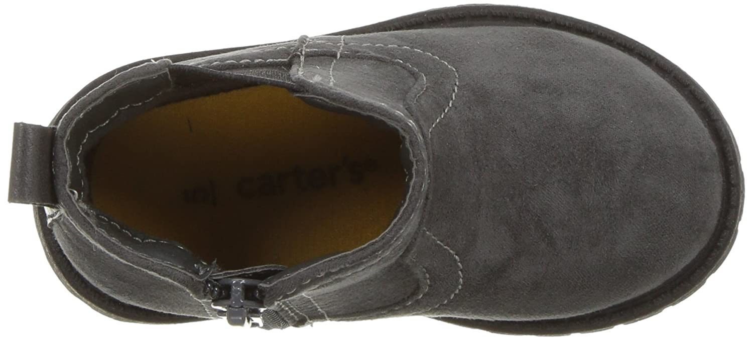 Carters Kids Boys Cooper3 Grey Chelsea Boot Fashion Carter/'s CF180982
