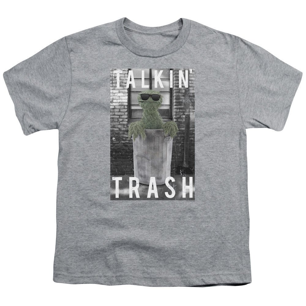 Sesame Street Talkin Trash Youth T-Shirt