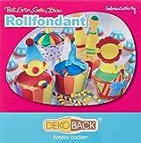 Rollfondant Bunt, 4 Farben, 1er Pack (4 x 100 g)