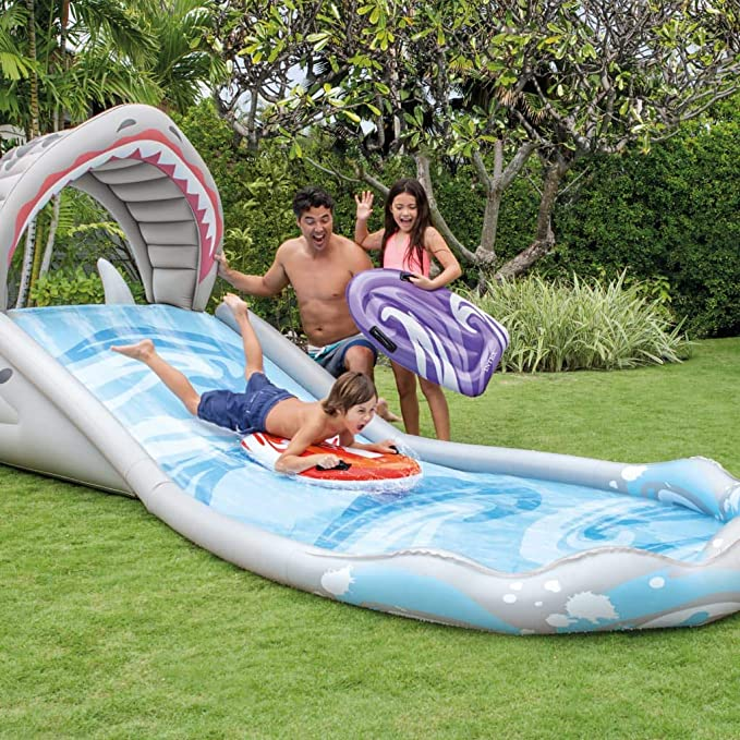 Surf n Slide 57159NP - Tobogán hinchable: Amazon.es: Bricolaje y ...