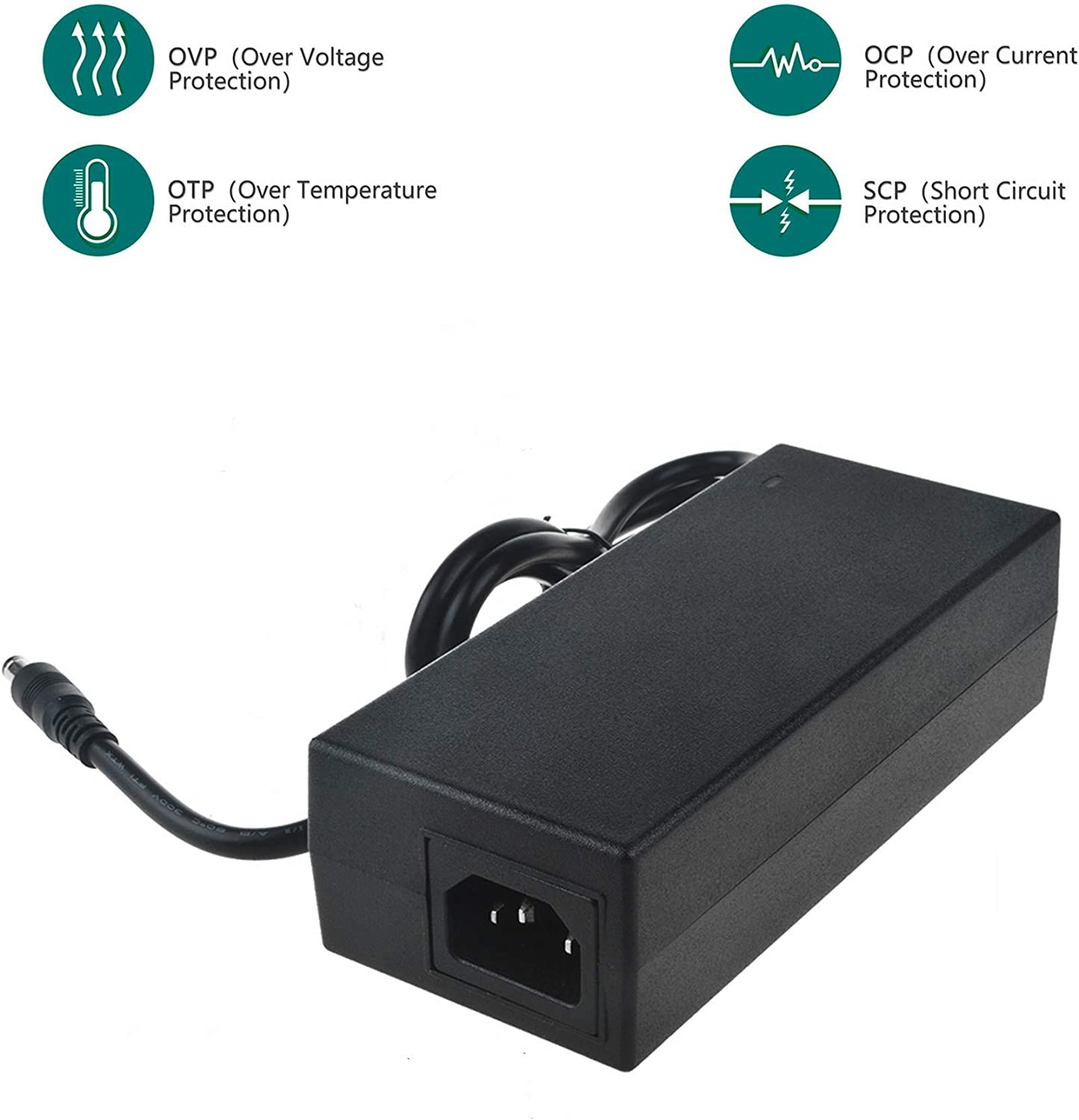SLLEA 12V AC//DC Adapter for Philips Pro M Series 1015642 CPAP Machine 50 Series System One REMstar Auto A-Flex 550 REF 550P 1051158 1024563 AA24750L 001 1058190 MW115RA1200N05 PSU