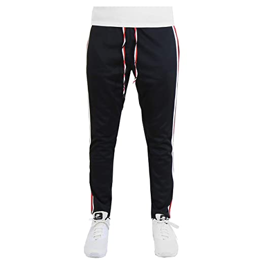 11796d8faff10 Galaxy by Harvic Mens Athletic Soccer Training Sweat Track Pants