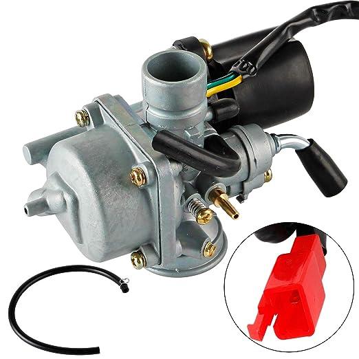 YAOBLUESEA Carburateur pour Moteur Carburateur pour 50cc 2 temps Moto Carb