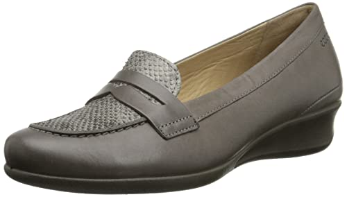 00bcaa6ade811 Ecco Footwear Womens Abelone Bit Slip-On Loafer