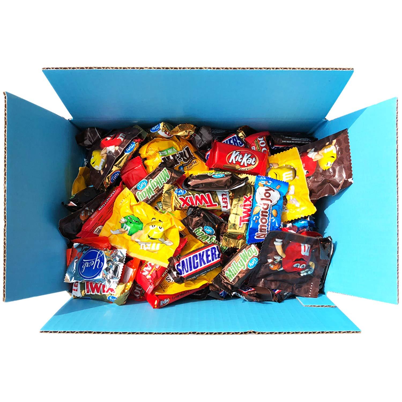 Candy & Chocolate HERSHEY'S Nestle M&M'S Variety Assortment Mix Bulk Value by Variety Fun (288 oz) by Custom Varietea (Image #1)