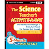 The Science Teacher's Activity-A-Day, Grades 5-10: Over 180 Reproducible Pages of Quick, Fun Projects that Illustrate Basic C