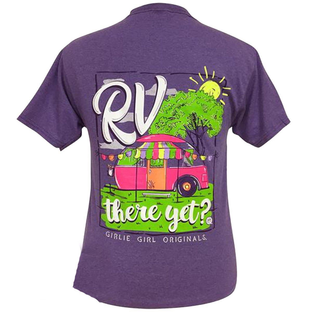 Girlie Girl Originals Youth RV There Yet Short Sleeve T-Shirt-Heather Purple-Medium