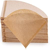 Coffee Filters, BetterLife V60 Cone Coffee Filters, 2-4 Cups Natural Coffee Filters Unbleached Paper Filters V02…