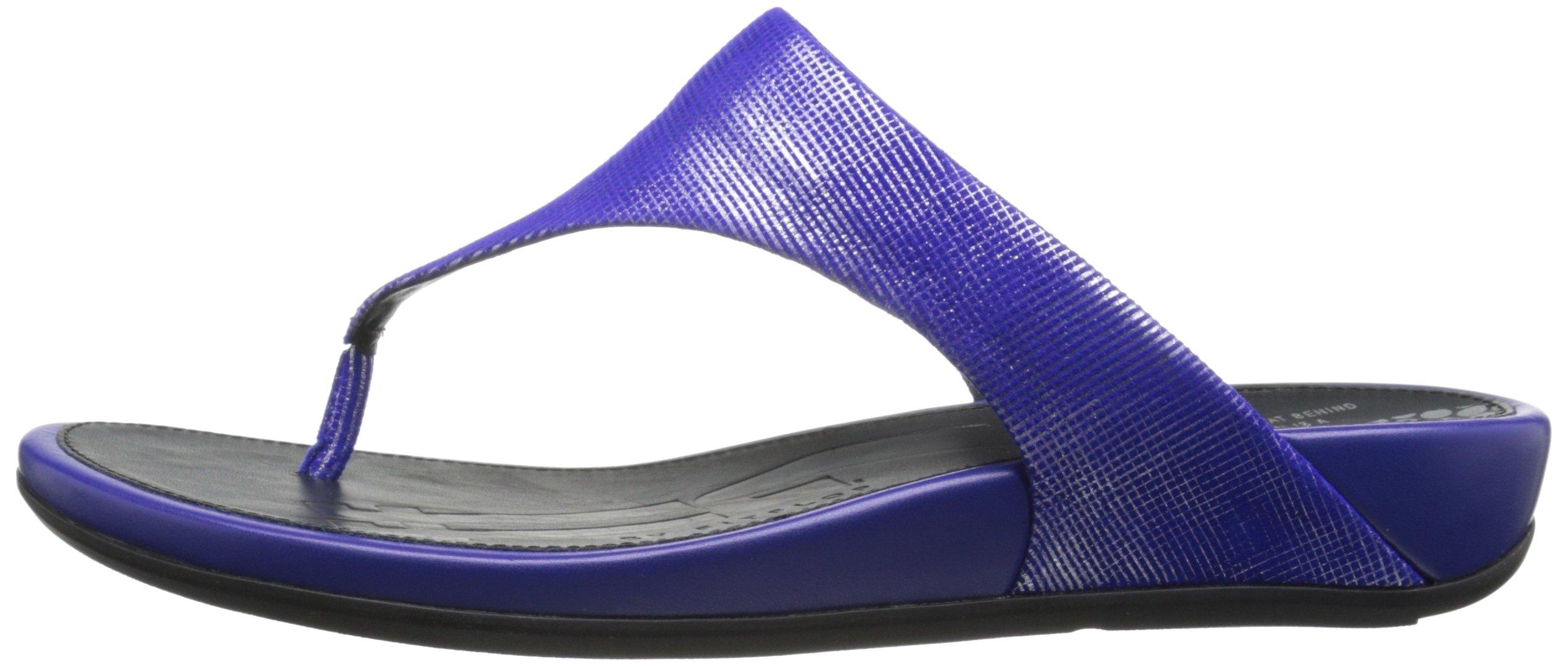 FitFlop Women's Banda Opul Flip Flop, Mazarin Blue, 7 M US by FitFlop (Image #5)