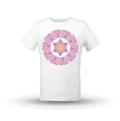 KrisTalas niños Camiseta de Las niñas Lotus Flower Lotus ...