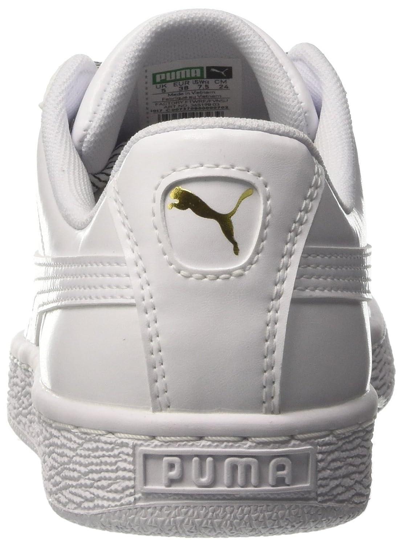 Puma Damen Basket Weiß Heart WN's Sneaker Weiß Basket (Puma Weiß) 044022