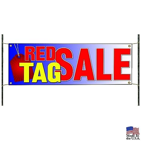 Amazon.com: Rojo Etiqueta venta de promoción de negocios ...