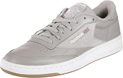 Reebok Club C 85 ESTL Chaussures de Sport, Homme, Gris