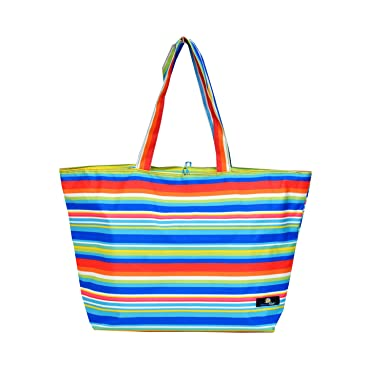 Amazon.com: Oversized Beach / Pool Tote - Platinum Series with ...